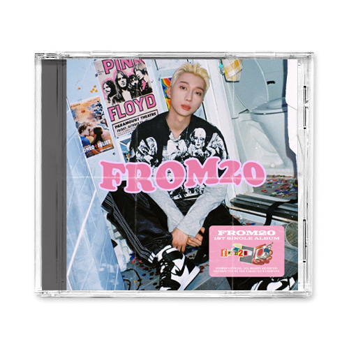 from20(프롬트웬티) 1st Single [20; still greedy for juicy, i'm kissing this 20] CD